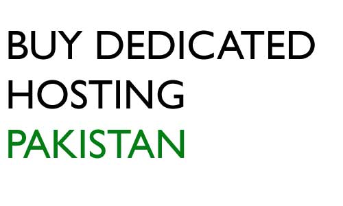 Buy dedicated Server in Pakistan
