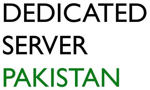dedicated server hosting pakistan